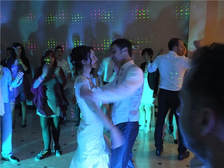 Sposi ed il loro primo ballo